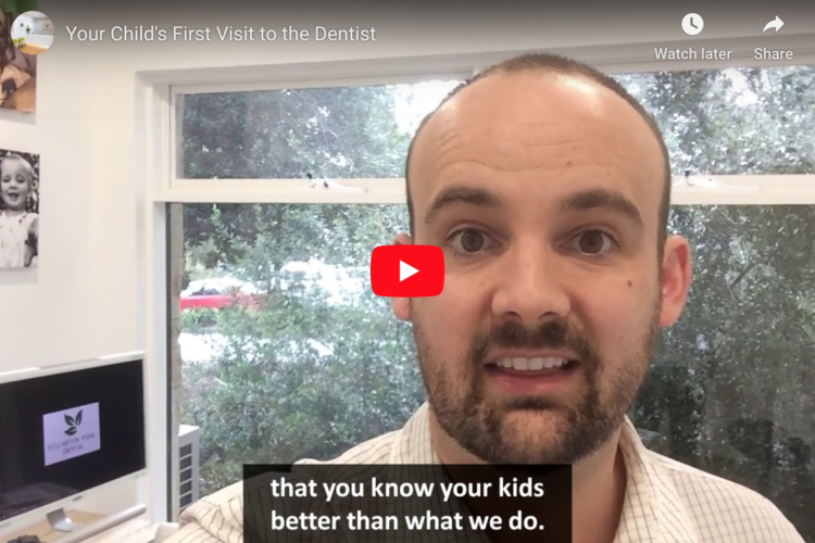 In this video Dr Michael talks about how old your children need to be before coming in to Fullarton Park Dental